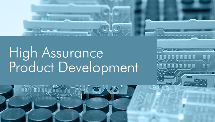 High assurance product development